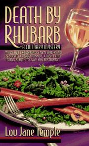Cover of: Death By Rhubarb  (A Heaven Lee Culinary Mystery)