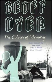 Cover of: The Colour of Memory