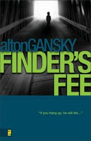 Cover of: Finder's Fee