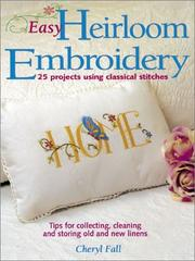 Cover of: Easy Heirloom Embroidery