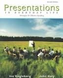 Cover of: Presentations In Everyday Life