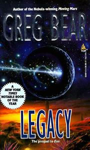 Cover of: Legacy (Eon)