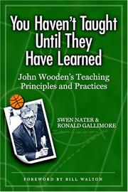 Cover of: You Haven't Taught Until They Have Learned