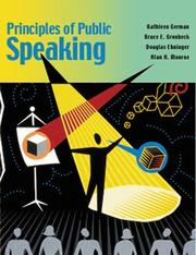 Cover of: Principles of Public Speaking (14th Edition)