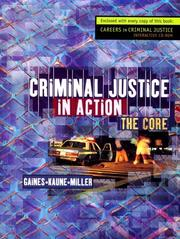 Cover of: Criminal Justice in Action