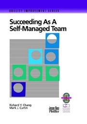 Cover of: Succeeding as a Self-Managed Team