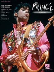 Cover of: Prince Anthology (Piano/Vocal/Guitar)