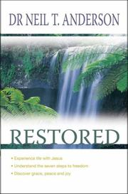 Cover of: Restored