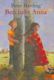 Cover of: Ben liebt Anna