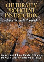 Cover of: Culturally Proficient Instruction: A Guide for People Who Teach