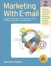 Cover of: Marketing with E-mail