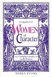 Cover of: Women of Character