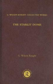Cover of: The Starlit Dome: G. Wilson Knight