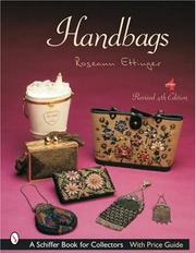 Cover of: Handbags (Schiffer Reference Book for Collectors)