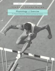 Cover of: Physiology of Exercise