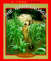 Cover of: The Wampanoags (True Books, American Indians)