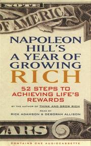 Cover of: Napoleon Hill's A Year of Growing Rich