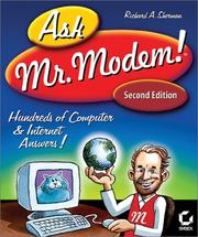Cover of: Ask Mr. Modem!