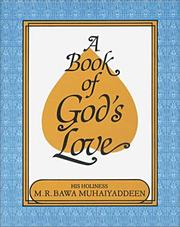 Cover of: A Book of God's Love
