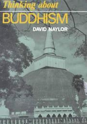 Cover of: Thinking about Buddhism (Thinking about Religion)