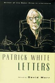 Cover of: Patrick White Letters