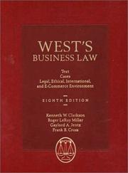 Cover of: West's Business Law