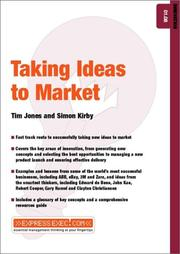 Cover of: Taking Ideas to Market (Express Exec)