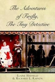 Cover of: The Adventures of Firefly, the Tiny Detective