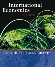 Cover of: International Economics, Sixth Edition