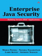 Cover of: Enterprise Java 2 Security