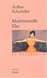 Cover of: Mademoiselle Else