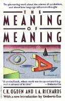 Cover of: The Meaning of Meaning (Ark Paperbacks)