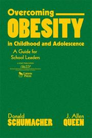 Cover of: Overcoming Obesity in Childhood and Adolescence