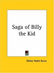 Cover of: Saga of Billy the Kid
