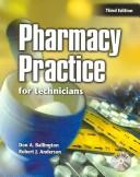 Cover of: Pharmacy Practice for Technicians