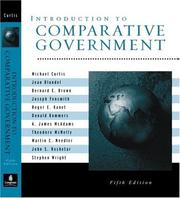 Cover of: Introduction to Comparative Government