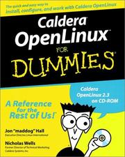 Cover of: Caldera OpenLinux for Dummies