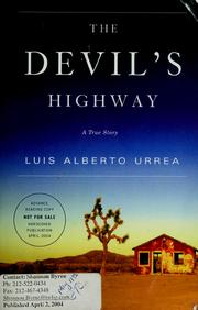 Cover of: The Devil's Highway: A True Story