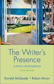 Cover of: The writer's presence