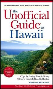 Cover of: The Unofficial Guide to Hawaii