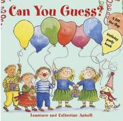 Cover of: Can You Guess