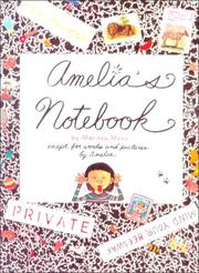 Cover of: Amelia's Notebook