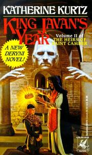 Cover of: King Javan's Year (Heirs of Saint Camber, Vol 2)