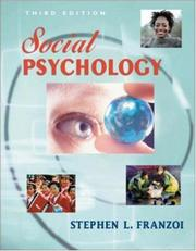 Cover of: Social Psychology with with Student CD and PowerWeb