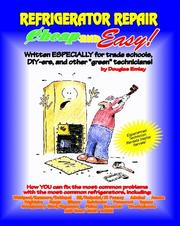 Cover of: Cheap and Easy! Refrigerator Repair (Cheap and Easy! Appliance Repair Series) (Emley, Douglas. Cheap and Easy!,)