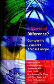 Cover of: A World of Difference?