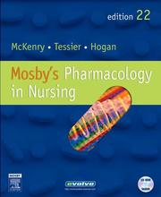 Cover of: Mosby's Pharmacology in Nursing
