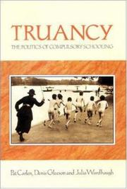Cover of: Truancy