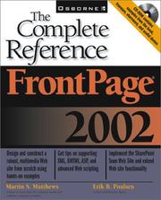 Cover of: FrontPage 2002