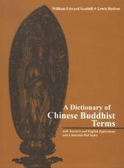 Cover of: Dictionary of Chinese Buddhist Terms